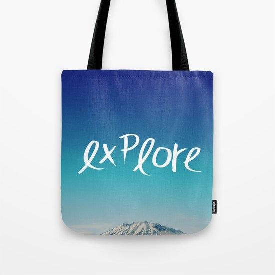 Explore: Mountain Tote Bag
