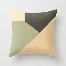 Geometric patchwork 3 Throw Pillow