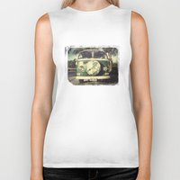 hippie Biker Tanks featuring Hippie Car by Arther Maure / URBANIC PHOTOGRAPHY