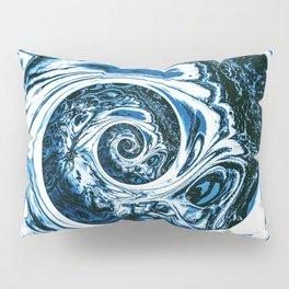 Yoga blue sacral for Kate Pillow Sham