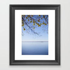 Spring. Framed Art Print