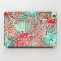 butterfly iPad Cases featuring Butterfly Pattern by Klara Acel