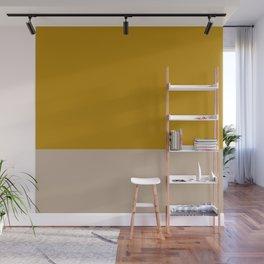 Mustard yellow Nude Wall Mural