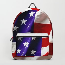 Flag HD by JC LOGAN 4 Simply Blessed Backpack