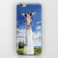 jesus iPhone & iPod Skins featuring Jesus by Condor