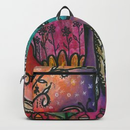 They live under flowers Backpack