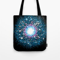 gaming Tote Bags featuring Gaming Supernova - AXOR Gaming Universe by Studio Axel Pfaender
