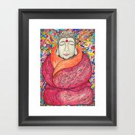 The peace Framed Art Print
