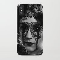 sylvia plath iPhone & iPod Cases featuring Sylvia by DIVIDUS