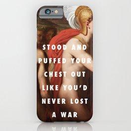 Achilles' Lightning iPhone Case
