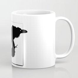 Raven Silhouette III Coffee Mug
