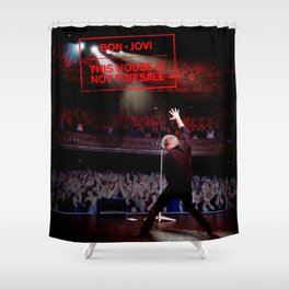 BON JOVI 2019 TOUR HOUSE NOT FOR SALE CUPU Shower Curtain