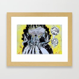 B-Boys Check Your Head Framed Art Print