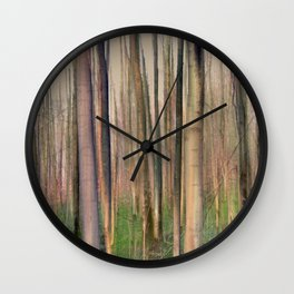 Lose Yourself in Thought Wall Clock