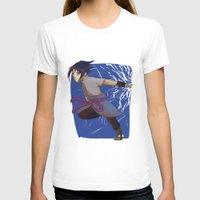 sasuke T-shirts featuring Sasuke the Avenger by Michelle Rakar