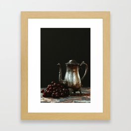 Tarnished Teapot Framed Art Print