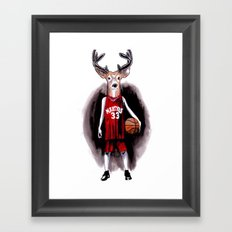 Y Is For Youngbuck  Framed Art Print