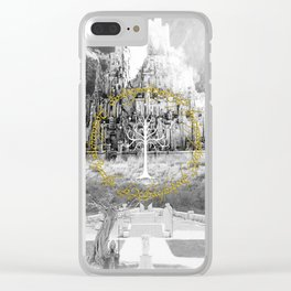 White Tree - The Lord Of The Ring Clear iPhone Case
