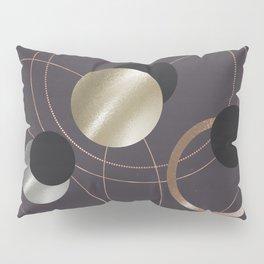 Golden Eclipses Pillow Sham