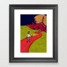 Walk to Oblivion Framed Art Print