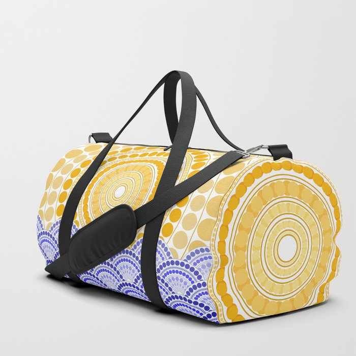 LIGHT OF DAWN (abstract tropical) Duffle Bag