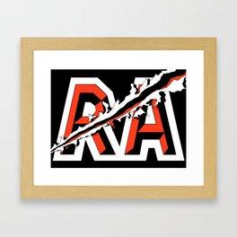 ROGUE ATHLETICS SLASH Framed Art Print