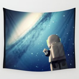 Neil in the galaxy Wall Tapestry
