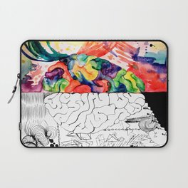 Right Left Brain Laptop Sleeve