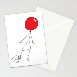 Don't let go Stationery Cards