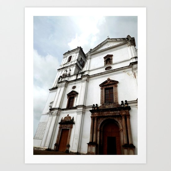 Majestic Church Art Print