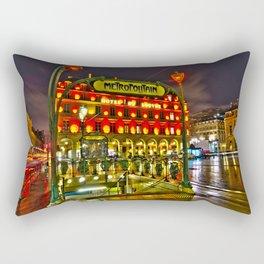 Metropolitan Palais Royal - Musée du Louvre Rectangular Pillow