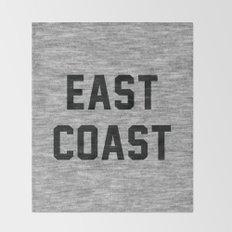 East Coast Throw Blanket