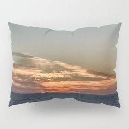 Summer sunset on lake Ontario Pillow Sham
