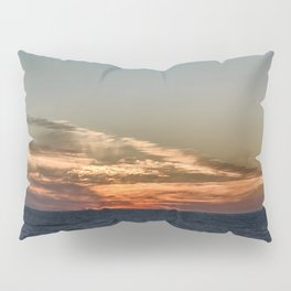 Summer sunset on lake Ontario Pillow Sham
