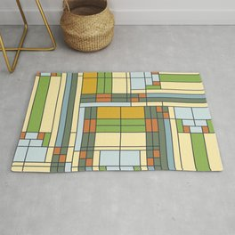 Stained glass pattern S01 Rug