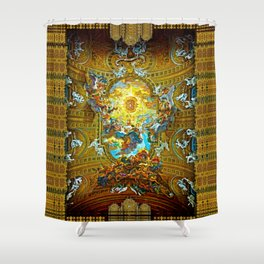 Barococo ... The Grandeur of Italy! Shower Curtain