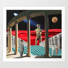 Red Dunes Art Print