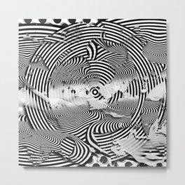 Remote Room Metal Print
