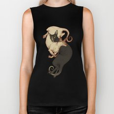 Monster Kitties Biker Tank