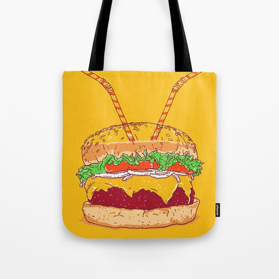Burger for two Tote Bag