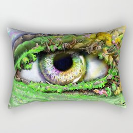 Natures Eye  Rectangular Pillow