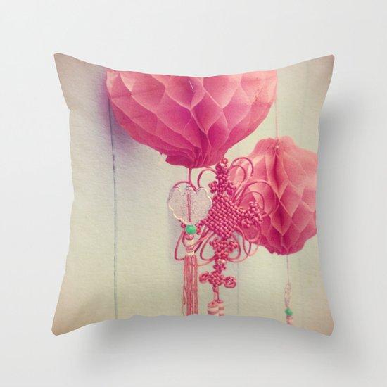 Chinese Lanterns II Throw Pillow