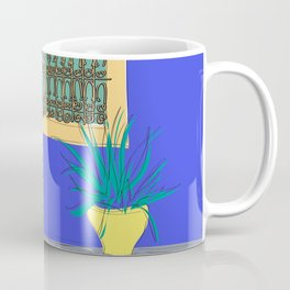 Le Jardin Majorelle, Marrakech (Marrakesh), Morocco Travel Poster Coffee Mug