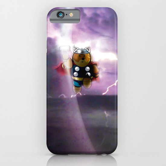 Super Bears - ACTION! the Mighty One iPhone & iPod Case