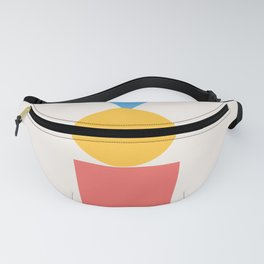 Primary Print Fanny Pack