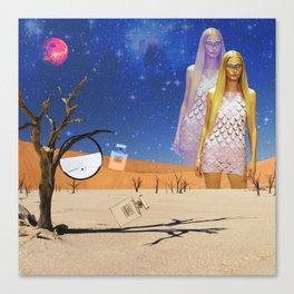 fashion alien Canvas Print