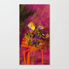 Saber Canvas Print