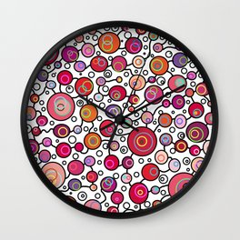 PokaDots Wall Clock