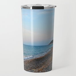 Greek Beach Travel Mug
