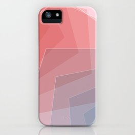 - He and she - Geometric minimalist art iPhone Case